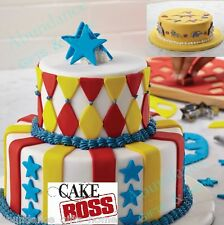 Cake Boss Circus Themed incl. Stars & Stripes 24 Piece Cake Decorating Kit *NEW*