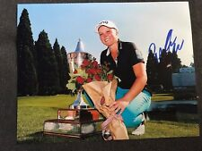 LPGA Brook Henderson Autographed Signed 11x14 Photo COA