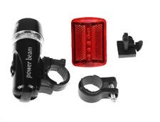 Bright LED Bicycle Bike Front Headlight and Rear Tail Light Set Waterproof