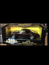 1968 Oldsmobile 442 Burgundy 1:18 Ertl American Muscle 32558