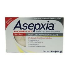 Asepxia Neutral Bar Soap. Anti Acne. Gentle Cleansing with Salicylic Acid