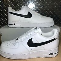 New Men's Nike Air Force 1 Low '07 AN20 MULTI SIZE White Black CJ0952-100 NWB