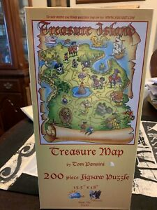 New Sunsout Pirate Treasure Map Puzzle 200 Pieces