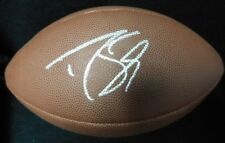 "Drew Brees "" New Orleans Saints"" Signed Wilson The Duke NFL Football JSA Auth."