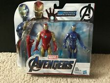 MCU VHTF! Iron Man & Rescue 2 pack Avengers 4 Endgame Team Wave 2 6 inch Figures