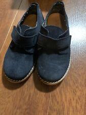 Zara Baby Suede Navt Dress Shoes Size 6