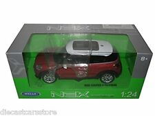 WELLY 2014 MINI COOPER PACEMAN RED 1/24 DIECAST CAR 24050