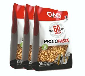 PASTA PROTEICA Ciao Carb ProtoPasta Riso 1500 gr ( 3 X 500 gr ) 60% Proteine
