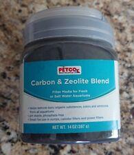 Petco Ammonia Neutralizing Carbon Zeolite Blend For Aquarium filter media 14 oz