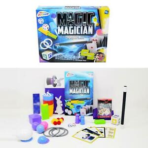 Kinder Zaubertrick-Set - 145 unglaubliche Tricks Zauberkasten Zauberschule