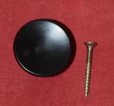 30 Mm Möbelknöpfe Kunststoff schwarz Möbelknopf 477450