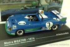 1/43 MATRA MS670B PESCAROLO 24 HORAS LE MANS 1974  IXO ALTAYA