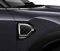 MINI Black and Grey Checkerboard scuttle trims, 51132413355