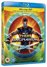 Thor: Ragnarok (3D + 2D Blu-ray, 2 Discs, Region Free) *NEW/SEALED*