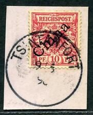Kiautschou V 3 I  Kab.-Briefstück   Tsintanfort