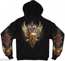 Sweat capuche EAGLE - Taille M - Style BIKER HARLEY