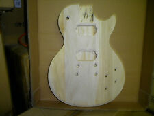 LP STYLE ELECTRIC GUITAR BODY UNFINISHED bolt-on Arched Top