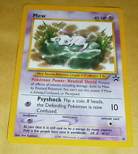 POKEMON BLACK STAR PROMO CARD - #47 MEW - V RARE