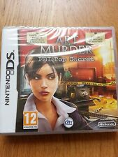 Jeu Nintendo DS Art of murder - FBI Top secret NEUF SOUS BLISTER