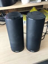 DELL Ax 210 USB POWERED Computer Laptop Speaker Set Pair (2 Speakers) w/Cables