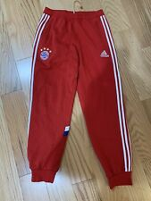 Adidas FC Bayern Munich Sweat Pant Sz M M37322 Vintage Soccer Red