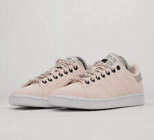 ADIDAS ADITECH STAN SMITH WOMEN FLEECE LINED TRAINERS SHOES - PINK FV4653 UK 4.5
