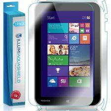 "2x iLLumi AquaShield HD Front Screen + Back Protector for Toshiba Encore 8"""