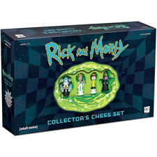 Rick and Morty Collectors Chess Set NEW