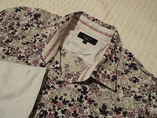 """Ted Baker Mens Shirt 🌍 Size 16"""" (40"""" chest) 🌎 RRP £ 110+ 📮 FANTASTICALLY Floral"""