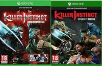 Killer Instinct Definitive Edition Xbox One MINT - BUNDLE - Super Fast Delivery