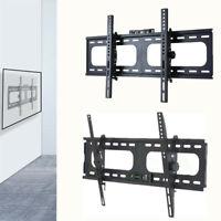 """Super Large TV Tilt Wall Mount Bracket for 26-75"""" Plasma Samsung TCL Wood Stud"""