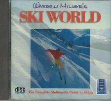 Music CD rom Warren Miller's Ski World