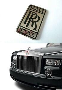 Emblem Badge Logo Sticker Front Bumper Grille for Rolls Royce Vehicles