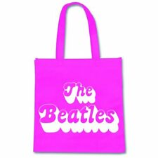 BEATLES Eco Bag Borsa Sporta Logo purple OFFICIAL MERCHANDISE
