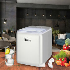 Zokop Mini Portable Compact Electric Ice Maker Machine 44lb Ice Cubes per day