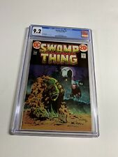 Swamp Thing 4 Cgc 9.2 Ow/w Pages Dc Comics Bronze 010