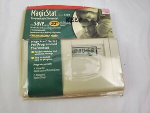 Honeywell MagicStat 32 5-2 Day Programmable Thermostat Model 3200 Heating Coolin