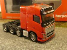 1/87 Herpa Volvo FH 16 Gl. Schwerlast-Zugmaschine rot 304788-003