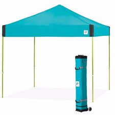 E-Z UP Pyramid 10 x 10ft Canopy Instant Shelter Easy Up - Splash Aqua