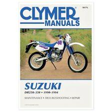 SUZUKI DR250/S DR350/S SERVICE REPAIR SHOP MANUAL BOOK 90-94, M476