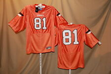 OKLAHOMA STATE COWBOYS  Nike #81 FOOTBALL JERSEY  Large  NWT  orange  $60 retail