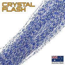 Blue Crystal Flash - Krystal, Tinsel, Fly Tying Materials, Snapper, jig assist