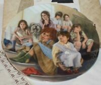 """""""Annie and the Orphans"""" 1984 4th Issue in Annie Collector's Plate Series Ltd Ed."""