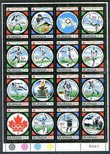 Nicaragua C883N2 MNH Olympics Montreal-1976. Baron Pierre de Coubertin; x17172