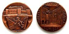 Medaglia Gorizia Gorz Gorica Gurisse Bronzo, cm 3,4 Peso g. 20,2