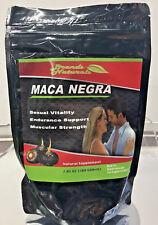 New Brands Naturals Sealed Maca Negra Polvo Powder Sexual Vitality 7.05oz