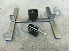 2X4 / 1X2 COMBO HEAVY DUTY TARGET STAND w/ HANGER KIT for steel or paper targets