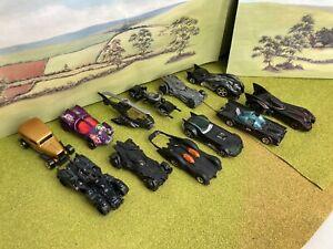 Hot wheels job lot x 12 Batman cars Batmobiles DC Comics