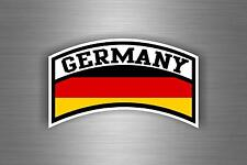 Sticker adesivi adesivo tuning auto moto jdm bandiera germania militari airforce
