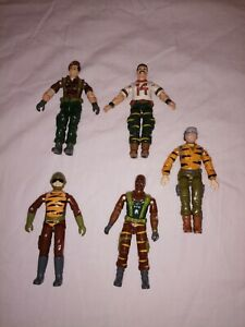 GI Joe/Action Force Tiger Force Figure Lot